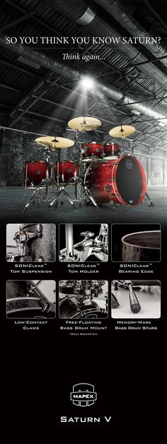Mapex Drums 2014 MESSE Product feature X rack