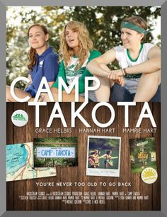 Camp Takota, directed by Chris and Nick Riedell. Starring Grace Helbig, Hannah Hart, and Mamrie Hart. Reviewed it here: http://filmreviews12.com/2015/02/12/camp-takota-review/