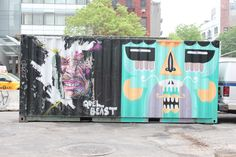 Shipping Container Street Art