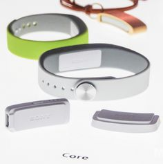 Sony's Core fitness tracker.