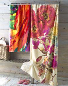 Theses beach towels look like art