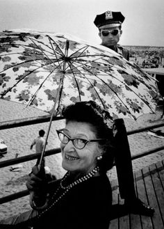 On The Boardwalk at Coney Island by Harold Feinstein, c.1950s