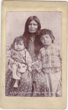 Geronimos wife and children