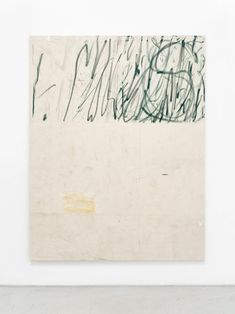 Struan Teague Untitled 2017 oil pastel and dirt on canvas 180 x 140 cm Art Inspo, Inspiration Art, Art Painting Gallery, Painting & Drawing, Art Minimaliste, We Heart It, Foto Art, Art Moderne, Minimalist Art