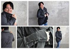 Nähanleitungen Mode - Cardigan EBook * my cuddle me * XXS - 3XL - ein Designerstück von schaumzucker bei DaWanda