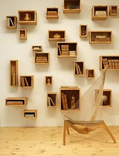 Creative box shelving