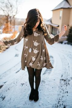 Outfit of the Week // Winter Bohemian // Party of Sarah