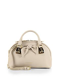 Burberry - Small Bloomsbury Satchel - Saks Fifth Avenue Mobile