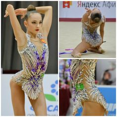 Polina Orlova (Russia), ribbon 2019 (photos by Asya Voskanyan) - Leotards Gymnastics Costumes, Gymnastics Poses, Artistic Gymnastics, Dance Costumes, Ballet Leotards For Girls, Gym Leotards, Rhythmic Gymnastics Leotards, Skating Dresses, Dance Dresses