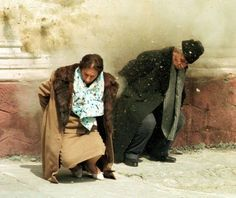 The moment of the execution of Elena and Nicolae Ceausescu, december Romania. The execution also meant the end of comunism for romanian people. European History, World History, American History, Romanian People, Romanian Revolution, Warsaw Pact, Mr President, Photo Report, Portraits