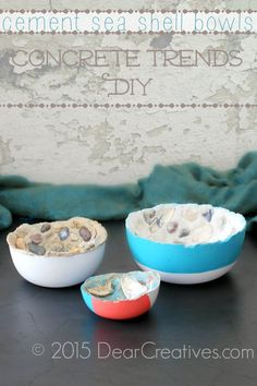 Concrete Trends | Easy Elegant Home Decor DIY | sponsored decoartprojects | full tutorial for diy