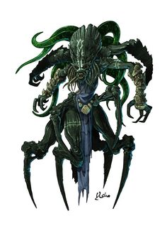 Fantasy Monster, Monster Art, Renaissance, Lovecraftian Horror, Alien Races, D D Characters, 2d Art, Cthulhu, Indiana