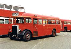 #LEYLAND PS1 TIGER 'TD' CLASS Bus City, Kingston Upon Thames, Routemaster, Red Bus, Bus Coach, London Bus, London Transport, Busses, Commercial Vehicle