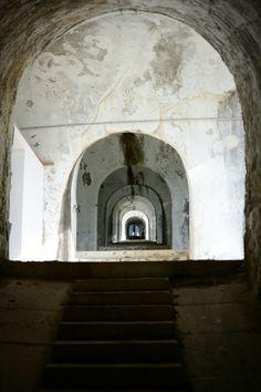 Forte Albertino corridoio