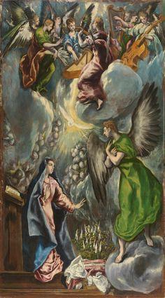 El Greco: The Annunciation