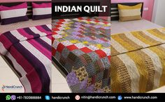Enjoy the Winters with Eye-Popping Quilts The winter season is fast approaching. This season is loved by many people in the world. Hot coffee, sleeping in the quilts gives ultimate happiness in the winter season. It is very big investment which you make when you buy the quilts or you and the bed to embellish the bedroom. Select the best quilt for this winter to help you protect from cold climate as such.