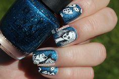Alice in Wonderland inspired nail art ~ by Coewless Nail Polish