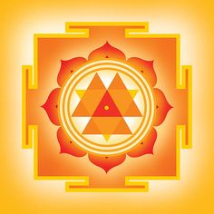 Vitality Sun Yantra = Goddess Durga Yantra This is the perfect symbol when you need to be reminded of your vibrant and endless nature. Each of us hold boundless and bold energy – most of us can't even fathom how beautiful and endless our energy is! This symbol is a tribute to the energetic sprit within each of us. When focused upon, we are called to recognize our inner fire, and embrace the energy that naturally flows from us.