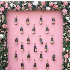 Sunday fundays  are made up of pretty floral and champagne walls   Shop all things pretty with link in profile. #ShopTTKB #WeDoPretty  @withgraceandloveevents