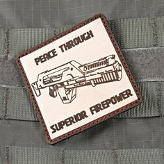 Aliens Patch Peace Through Superior Firepower