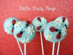 Ladybug cake pops... gorgeous!