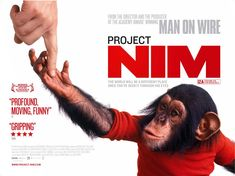 Project Nim (2011): A Film by James Marsh. Tells the story of a chimpanzee taken from its mother at birth and raised like a human child by a family in a brownstone on the upper West Side in the 1970s.