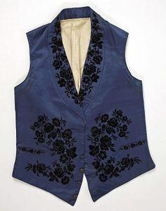 Vest  Date: ca. 1840 Culture: French (probably). Please like http://www.facebook.com/RagDollMagazine and follow @RagDollMagBlog @priscillacita