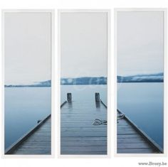 "Lifestyle94-Lifestyle Te Anau Lake S3 3X45X125 Cm 125564 <span style=""font-size: 6pt;""> Wandpaneel-kader-decoration-murale-Panneau-mural-wall-decoration-frame-wanddekoration-rahn-rahmen </span>"