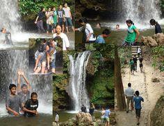 Fun at Corbett Falls in #JimCorbett National Park in Uttarakhand, #India.