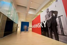 Kandinsky's Cosmic Consciousness/Installation view, 'Kandinsky: A Retrospective' at the Milwaukee Art Museum (photo by Front Room Photography)