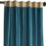 """Hamilton Curtain - Gilded Teal 84"""""""