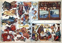 Papermau: Christmas Time - Brandyská Nativity Set - by Papermodel Kiosk