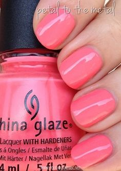 China Glaze Petal to the Metal
