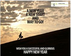 A New Year, A new start and way to go! Wish you a successful and glorious happy new year