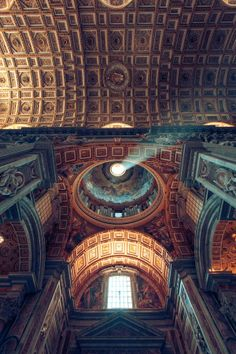 "St Peter's Balistica in Vatican city, Rome is an awe-inspiring building. It was once described by philosopher Ralph Waldo Emerson as ""an ornament of the earth ....the sublime of the beautiful."""