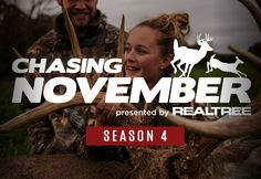Season 4 of Chasing November is now LIVE! 🦌 Watch all 24 episodes on Realtree365 right now. LINK BELOW TO WATCH.