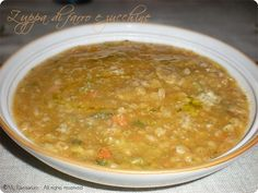 Zuppa di farro e zucchine Pasta, Ethnic Recipes, Food, Recipies, Essen, Meals, Yemek, Eten, Pasta Recipes
