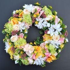 Wianek Wreath flowers...