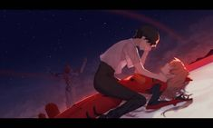 The End of Evangelion by WhitherLaws on DeviantArt Anime Couples Manga, Cute Anime Couples, Manga Anime, Anime Art, Anime Girls, Neon Genesis Evangelion, The End Of Evangelion, Rosario Vampire Anime, Netflix Anime