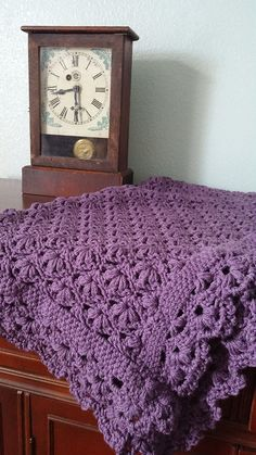 Ravelry: aboulomania's Baby Blossoms Blanket - Free Pattern