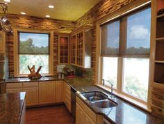 Perfect style blinds for the modern kitchen look. These blinds are #wirefree #wireless #nowires #remotecontrol #smartphoneapp #tabletapp #noelectricianrequired #childsafe #cordless #largewindows #smallwindows #windowblinds #windowshades #windowcoveringsolution #prettywindows #childfriendly #smartblinds #homedesign #kitchenblinds #interiordesign #redesign #bathroomblinds #bedroomblinds #lounge