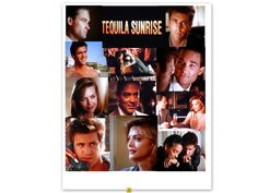 TEQUILA SUNRISE  stars Mel Gibson, Kurt Russell, Michelle Pfeiffer Michelle Pfeiffer, Tequila Sunrise 1988, Raul Julia, Kurt Russell, Star Wars, Mel Gibson, Films, Movies, Actors