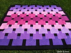 Quilt Kisses: Floating: A Finished Quilt