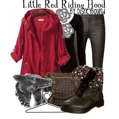 """Little Red Riding Hood"" by lalakay on Polyvore"