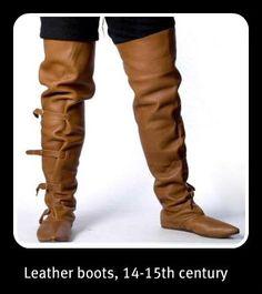 Footwear...... 14th Century boots