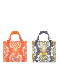 Take a look at this Opulent Peach & Opulent Stone Reusable Bag Set by LOQI on #zulily today!