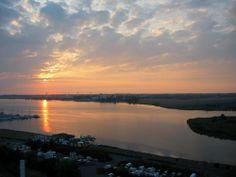 Sonnenuntergang über der Ostsee