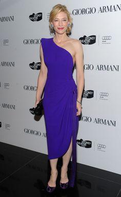 Cate Blanchett Armani dress