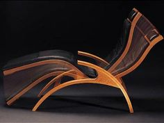 The Lolling Chaise from Thos Moser. We should all loll more.