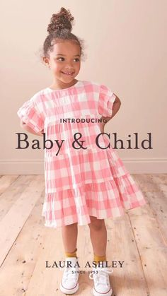 Perfect for play and made for adventure, let your little ones run free in style with our new range of summer dresses. Featuring pretty prints that take inspiration from the extensive Laura Ashley archive, the collection includes styles for babies, younger girls and older girls. Discover the collection online now at lauraashley.com and at @nextofficial